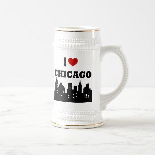 I Love Chicago Coffee Mug