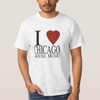 I love Chicago House Music Tee Shirt