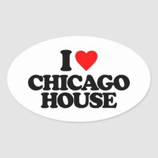 I love house music stickers zazzle for Chicago house music