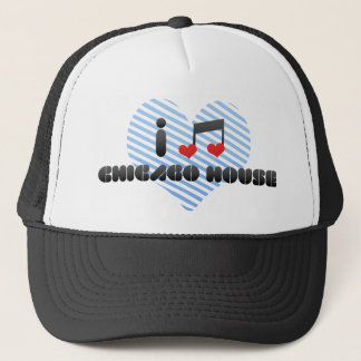 I Love Chicago House Trucker Hat