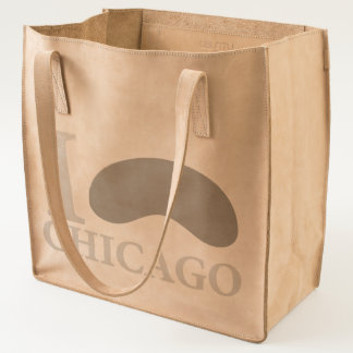 I love Chicago HQ Leather Series Tote