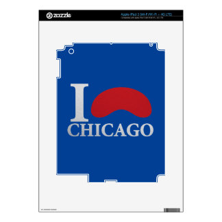 I LOVE CHICAGO iPad 3 DECAL