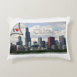 I love Chicago (pillow) Decorative Pillow