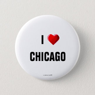 "I Love Chicago"" pinback button"