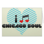 I Love Chicago Soul Greeting Card