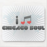 I Love Chicago Soul Mouse Pad