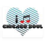 I Love Chicago Soul Post Cards