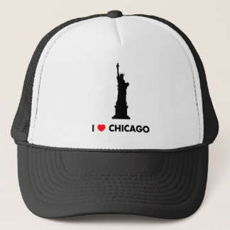 I Love Chicago - Statue of Liberty Trucker Hat