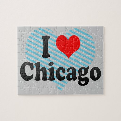 I Love Chicago, United States Jigsaw Puzzle
