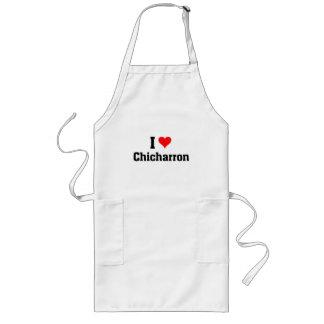I love Chicharron Long Apron