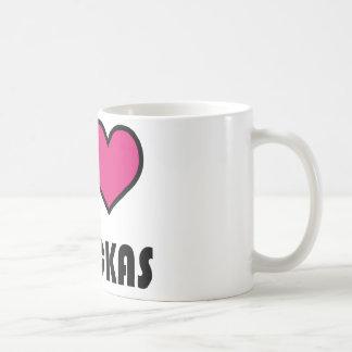 I love chickas coffee mug