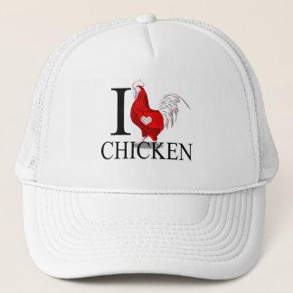 I Love Chicken Caps