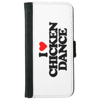 I LOVE CHICKEN DANCE WALLET PHONE CASE FOR iPhone 6/6S