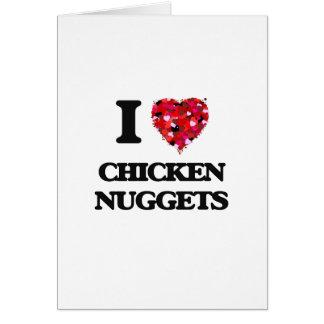 I love Chicken Nuggets Card
