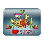 I love chicken Premium Magnet