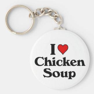 I love Chicken Soup Keychain