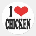 I Love Chicken Sticker