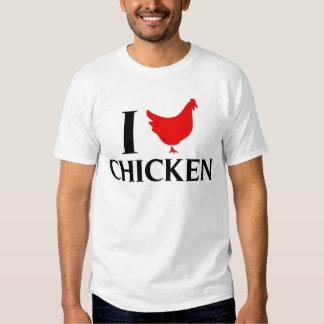 I Love Chicken Tee Shirt