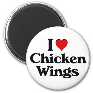 I love chicken wings magnet