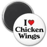 I love chicken wings magnets