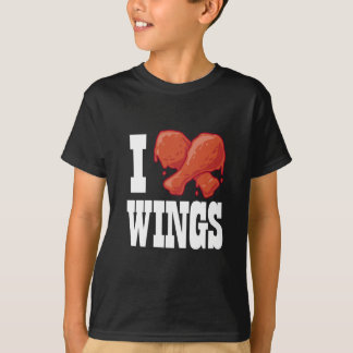 I Love Chicken Wings T-Shirt
