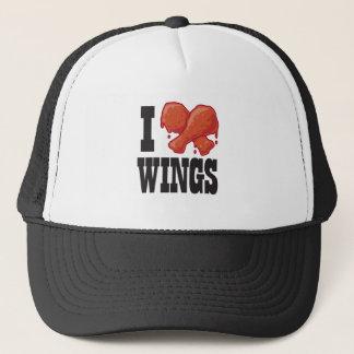 I Love Chicken Wings Trucker Hat