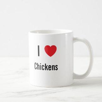 I love Chickens Coffee Mug