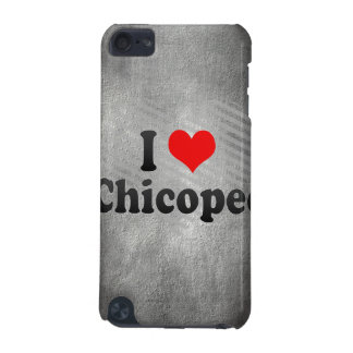 I Love Chicopee United States iPod Touch (5th Generation) Cases