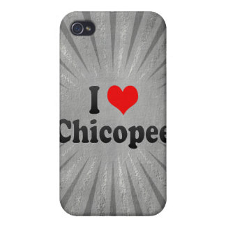 I Love Chicopee United States iPhone 4/4S Cover
