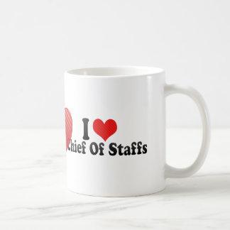 I Love Chief Of Staffs Coffee Mug