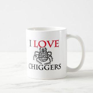 I Love Chiggers Classic White Coffee Mug