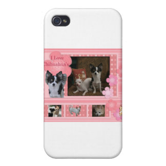 I love Chihuahuas iPhone 4 Cover