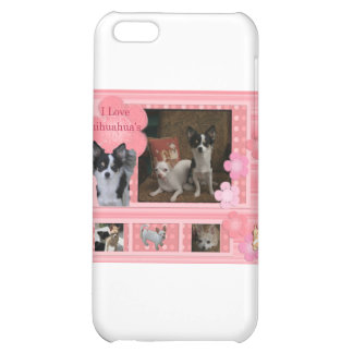 I love Chihuahuas Case For iPhone 5C