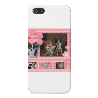 I love Chihuahuas iPhone SE/5/5s Cover