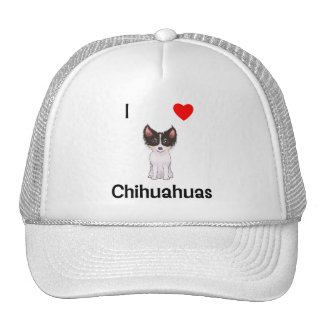 I Love Chihuahuas (picture) Trucker Hat