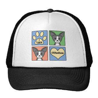 I Love Chihuahuas Trucker Hat