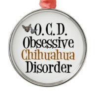 I Love Chihuhuas Ornament