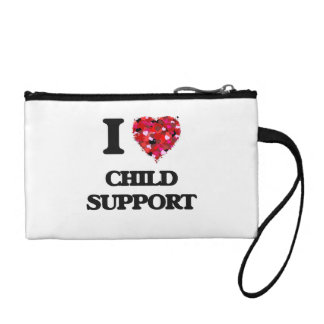 I love Child Support Coin Wallet