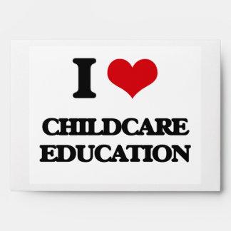 I love Childcare Education Envelope