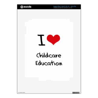 I love Childcare Education iPad 3 Skins