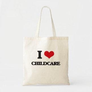 I love Childcare Tote Bag