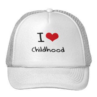 I love Childhood Mesh Hats