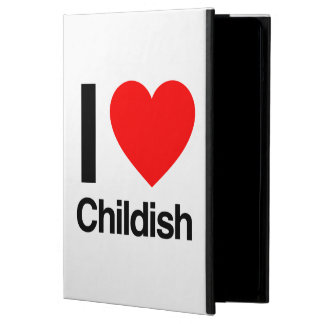 i love childish case for iPad air