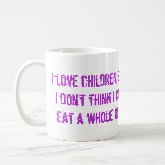 I Love Children Coffee Mug