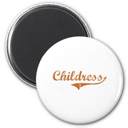 I Love Childress Texas Magnet