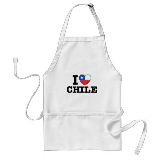 I Love Chile Aprons