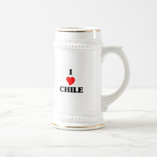 I Love Chile Beer Stein