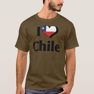 I Love Chile Flag T-Shirt