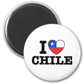 I Love Chile Fridge Magnets