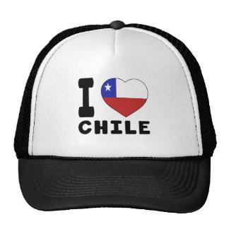 I Love Chile Trucker Hat
